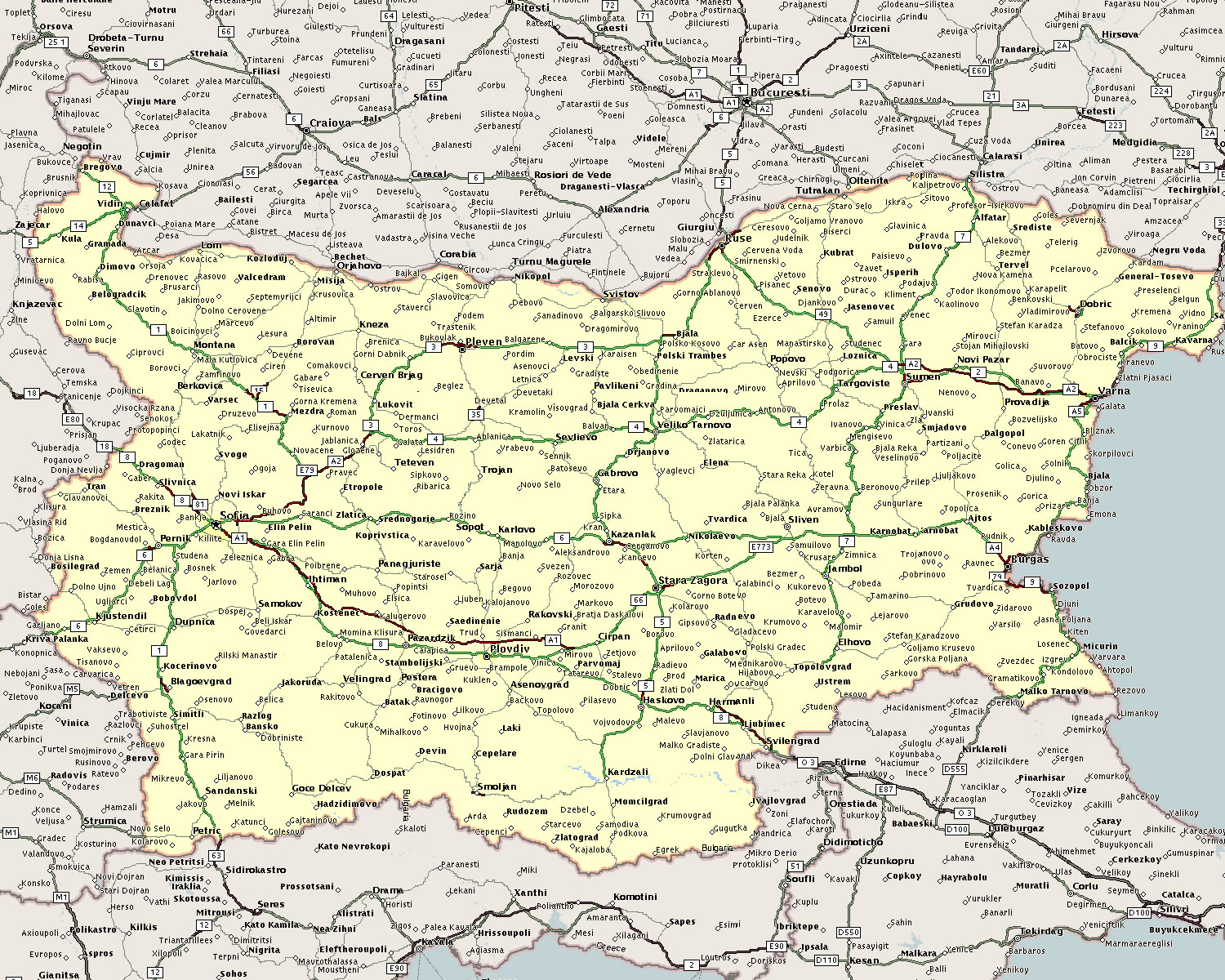 Find Properties Using the Map of Bulgaria